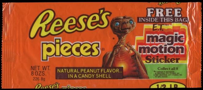 ET Reeses Pieces